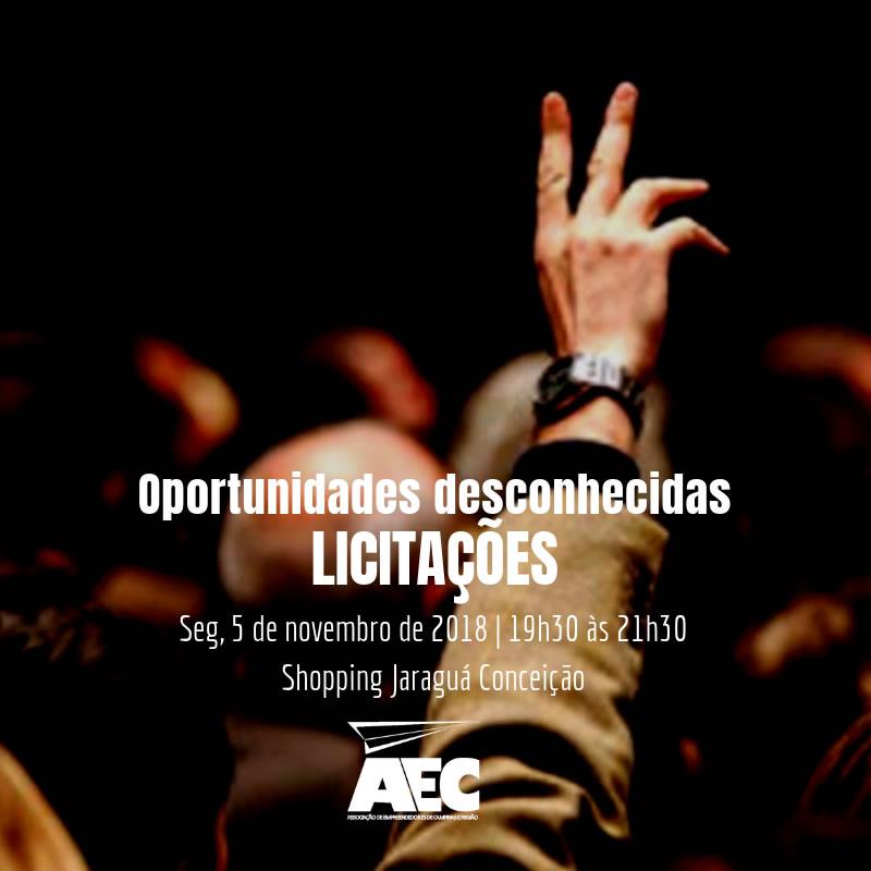 Palestra:  Oportunidades desconhecidas - Licitações | Dra. Adriana Santana